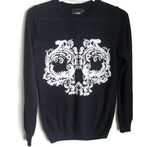 🛍ASOS | Ornamental Skull Sweater